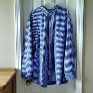 Lacoste long sleeve button down XXL